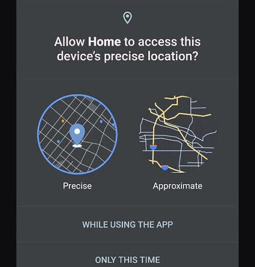 Android 12 é ainda mais transparente com localização do usuário (Imagem: reprodução/XDA-Developers)