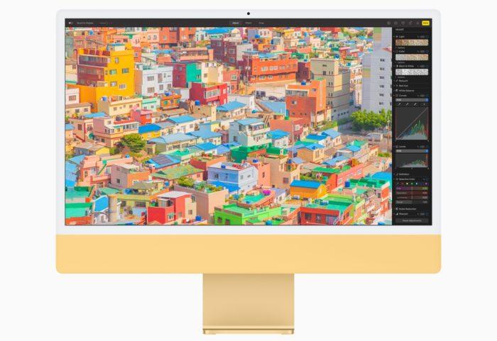 Novo iMac tem tela Retina 4,5K (imagem: divulgação/Apple)