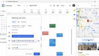 Google Maps ganha atalho na barra lateral do Gmail e Agenda para acesso rápido