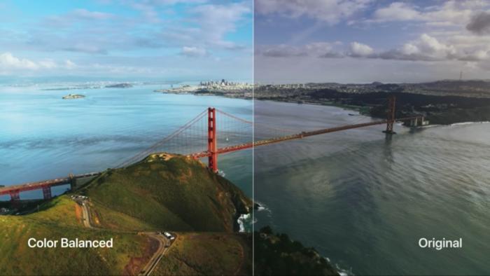 Balanço de cores com Apple TV (Imagem: Divulgação/Apple)