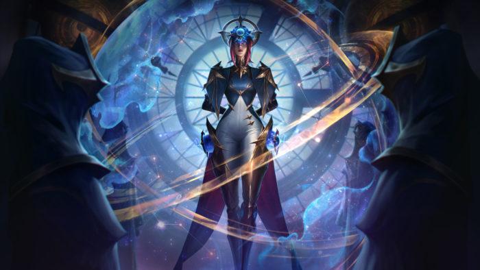 """Camille com a skin """"Astromante"""", de Wild Rift (Imagem: Divulgação/Riot Games)"""