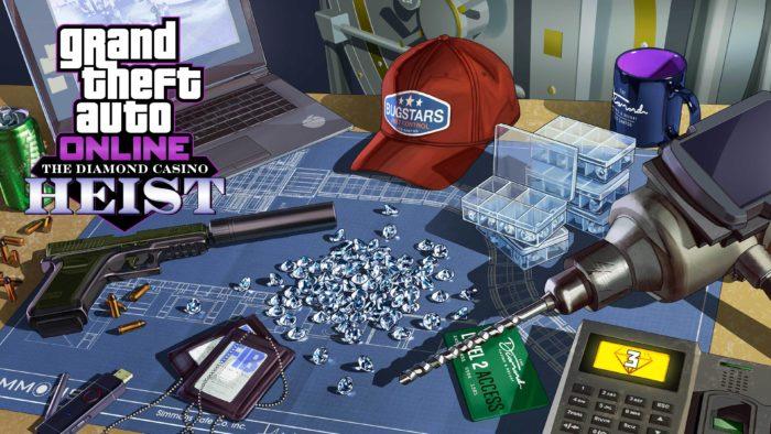 Golpe do Cassino Diamond em GTA Online (Imagem: Divulgação/Rockstar)