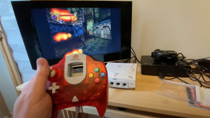 Castlevania do Dreamcast foi cancelado após 1999 (Imagem: Reprodução)