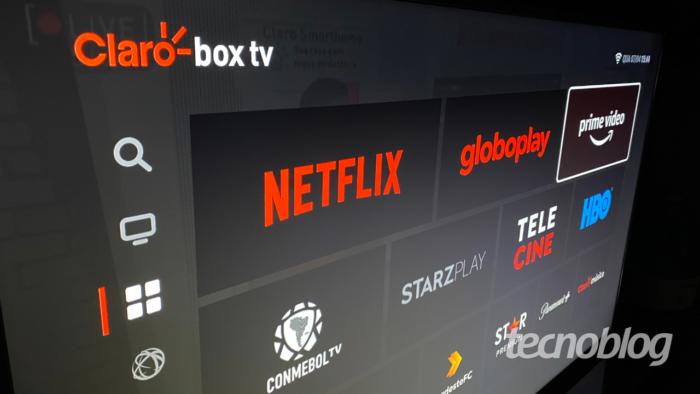 Amazon Prime Video chega ao Claro Box TV (Imagem: Lucas Braga/Tecnoblog)