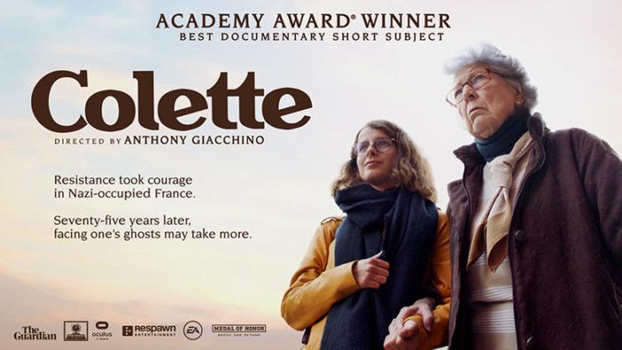 """""""Colette"""", do Facebook, ganha Oscar de melhor curta documentário (Imagem: Divulgação/Oculus)"""