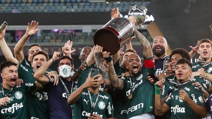 Palmeiras venceu a Libertadores 2020 (Imagem: Cesar Greco/Palmeiras)