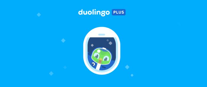 Duolingo Plus pode ser assinado pelo celular ou versão web (Imagem: Reprodução/Duolingo)