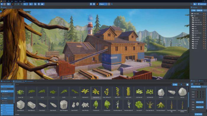 Desenvolvimento de games em Core (Imagem: Divulgação/Epic Games)