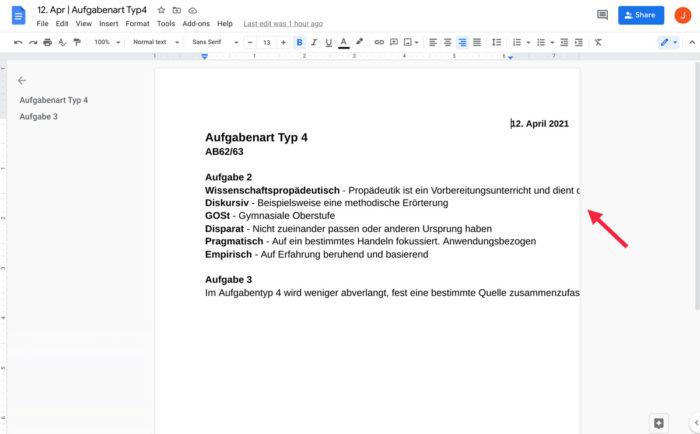 Erro faz texto ultrapassar limite da página no Google Docs (Imagem: Reprodução/Reddit)