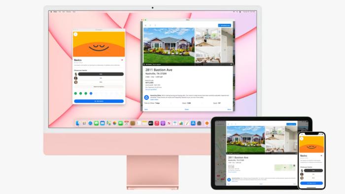 Evento da Apple teve lançamento de iMac colorido, AirTags, iPhone roxo e mais (Imagem: Reprodução/Apple)