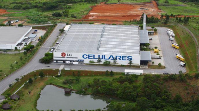 Fábrica da LG em Taubaté (Imagem: Reprodução/O Vale)