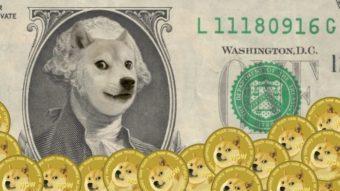 Dogecoin passa a ser negociado na corretora Coinbase Pro e sobe 30%