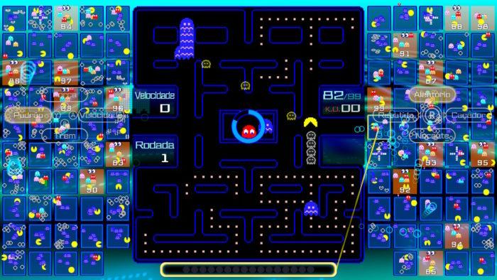 A fileira de fantasmas (Imagem: Reprodução/Bandai Namco)