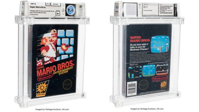Fita de Super Mario Bros. é vendida por US$ 660 mil (Imagem: divulgação/Heritage Auctions)