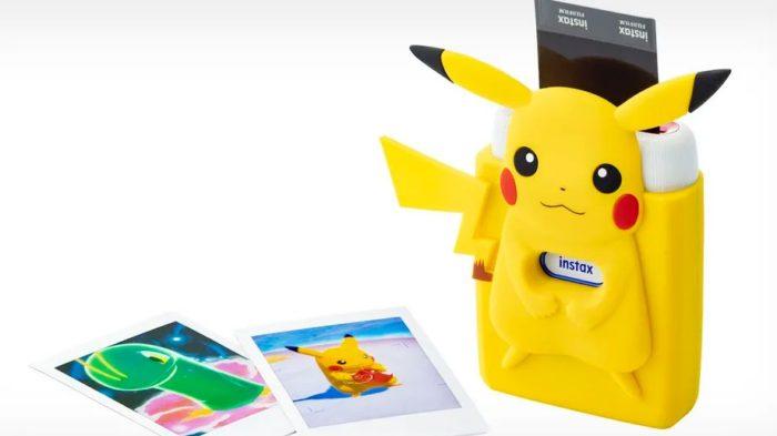 Impressora do Nintendo Switch vai permitir imprimir fotos de Pokémon (Imagem: Divulgação/Fujifilm)
