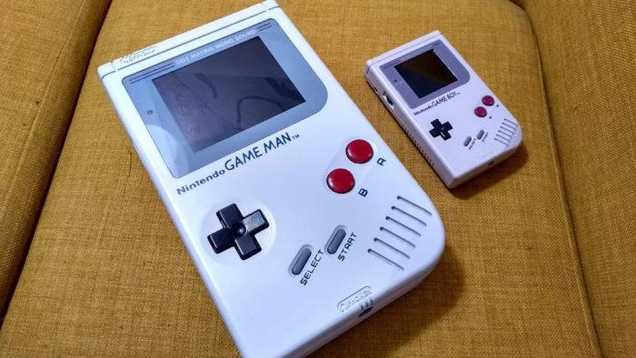 Game Man é quatro vezes maior que o Game Boy (Imagem: Reprodução/YouTube Grumpy Modeler)