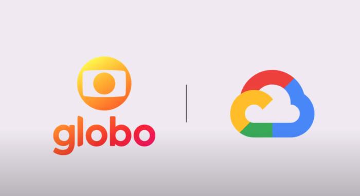 Globo e Google Cloud (Imagem: Divulgação/Globo)
