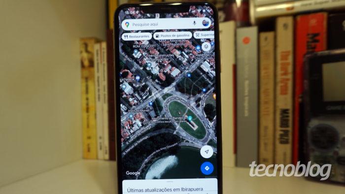 Google Maps (Imagem: André Fogaça/Tecnoblog)