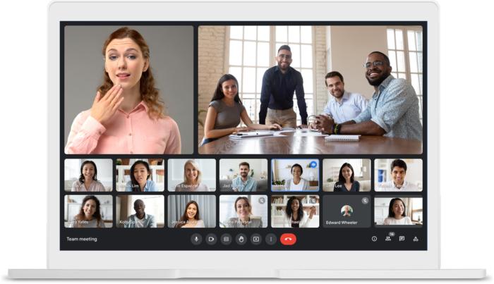 Google Meet permite fixar mais de um participante (Imagem: divulgação/Google)