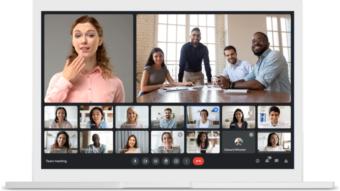 Google Meet permite usar vídeo como plano de fundo na web