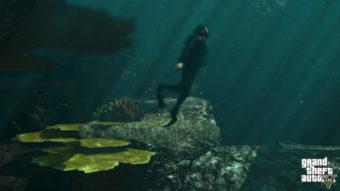 Como mergulhar e nadar no GTA 5