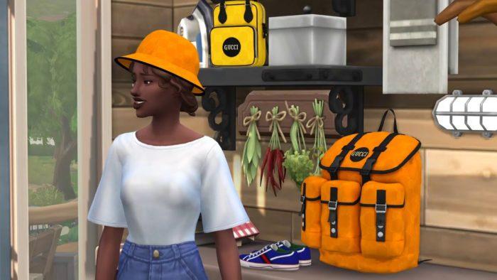 Peças da Gucci em The Sims 4 (Imagem: Divulgação/Gucci)