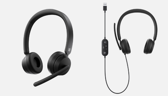 Modern Wireless e USB Headsets