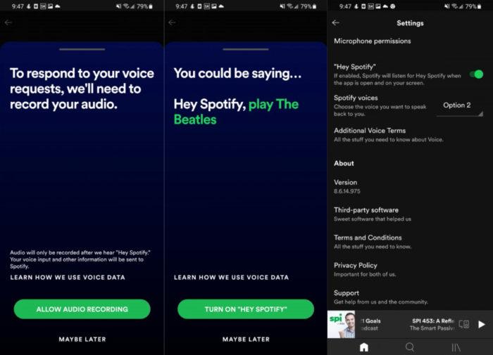 Comando Hey Spotify chega para mais usuários (Imagem: reprodução/GSMArena)
