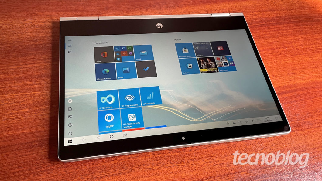 HP Probook X360 (imagem: Emerson Alecrim/Tecnoblog)