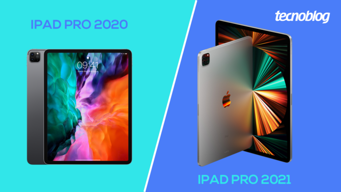 iPad Pro 2020 vs iPad Pro 2021 (Imagem: Vitor Pádua/Tecnoblog)