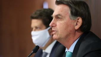 Instagram e Facebook marcam post de Bolsonaro com aviso de informação falsa