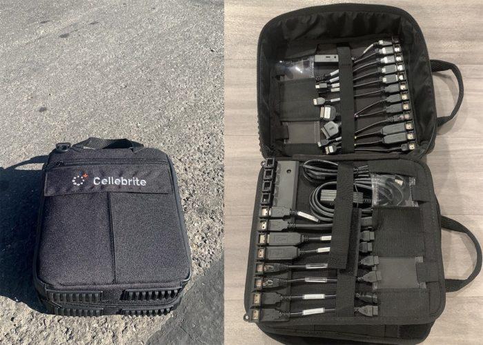 Kit da Cellebrite (imagem: Moxie Marlinspike/Signal)