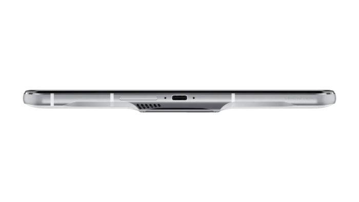 Relevo na parte de trás do Lenovo Legion Phone Duel 2 (Imagem: Divulgação/Lenovo)
