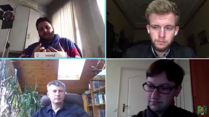 Alexei Stolyarov se passou por Leonid Volkov, mas não usou deepfake (Imagem: Reprodução/YouTube)