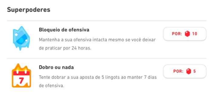 Para que servem os Lingots no Duolingo? (Imagem: Reprodução)