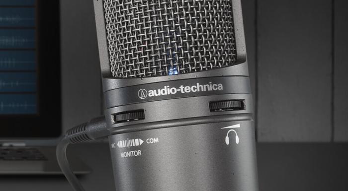 Microfone Audio-Technica (Imagem: Divulgação / Audio-Technica)