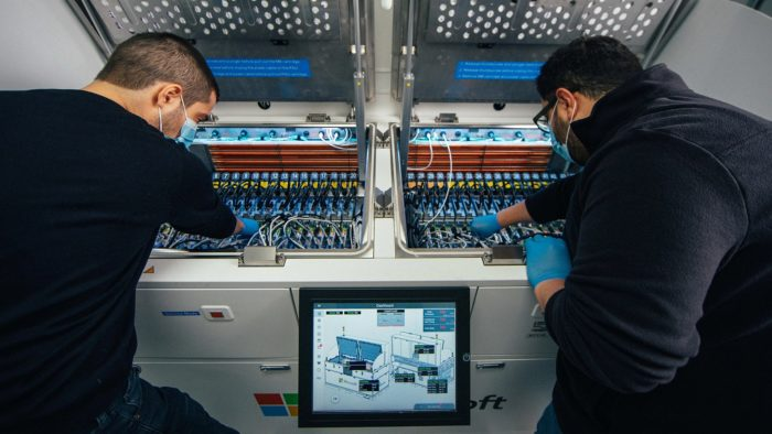 Sistema de resfriamento via líquido (imagem: divulgação/Microsoft)
