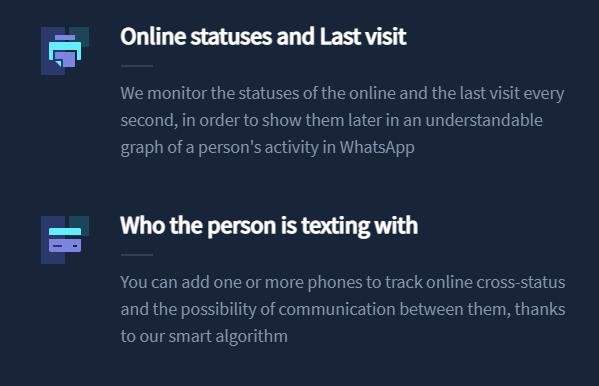 Site monitora status online no WhatsApp (Imagem: Reprodução)