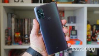 Moto G31 é certificado pela Anatel com bateria grande