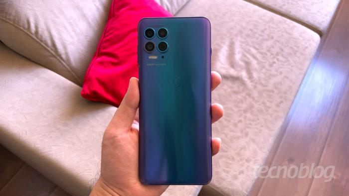 Motorola Moto G100 é certificado para realidade aumentada do Google (Imagem: Paulo Higa/Tecnoblog)