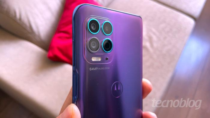 Motorola Moto G100 (Imagem: Paulo Higa/Tecnoblog)