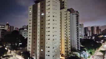 Foto tirada com a câmera traseira do Moto G100 em modo noturno (Imagem: Paulo Higa/Tecnoblog)