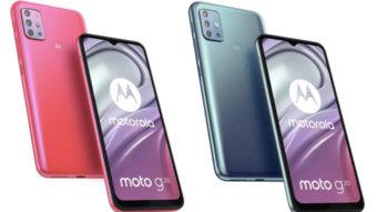Moto G20 com tela de 90 Hz e câmera quádrupla vaza em novas imagens