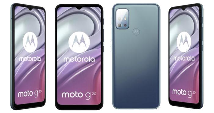 Possível Motorola Moto G20 (Imagem: Reprodução/91Mobiles)