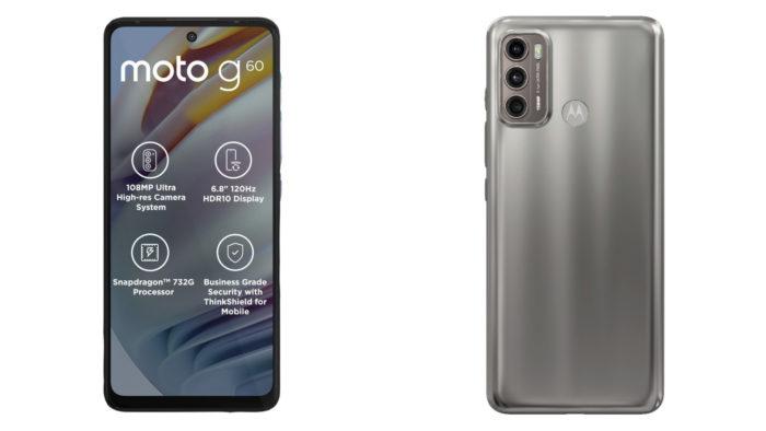 Motorola Moto G60 (Imagem: Divulgação/Motorola)