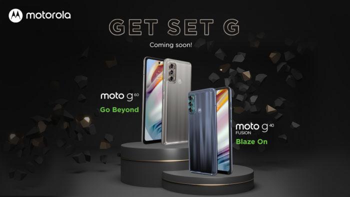 Teaser do Moto G60 e Moto G40 Fusion (Imagem: Reprodução/Motorola India/Twitter)