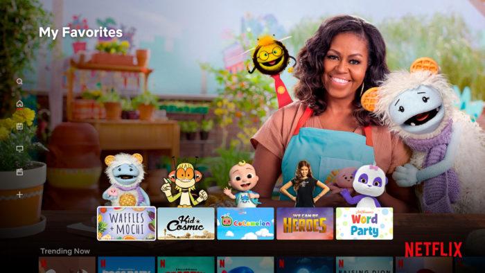 Netflix: seção Kids recebe mudanças no visual (Imagem: Reprodução/Netflix)