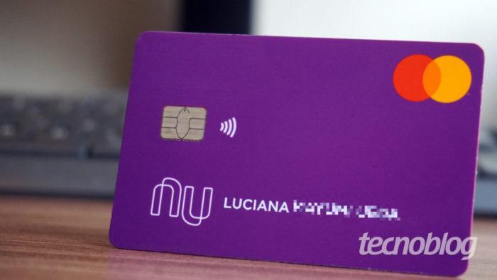 Cartão do Nubank (Imagem: André Fogaça/Tecnoblog)