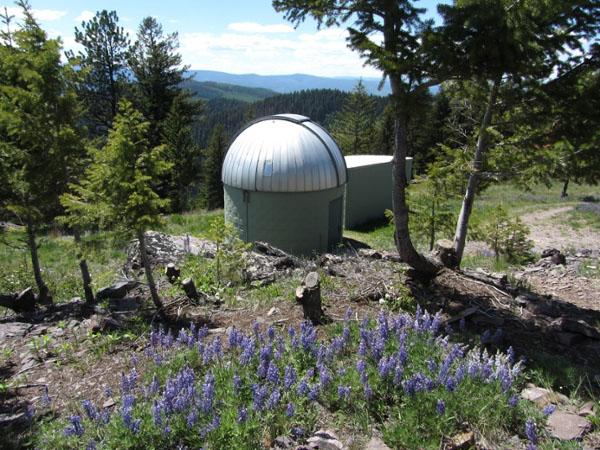 Observatório de Blue Mountain (Imagem: Divulgação/Universidade de Montana)
