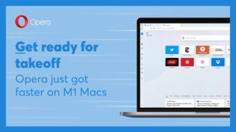 Opera ganha suporte nativo a Macs com Apple M1